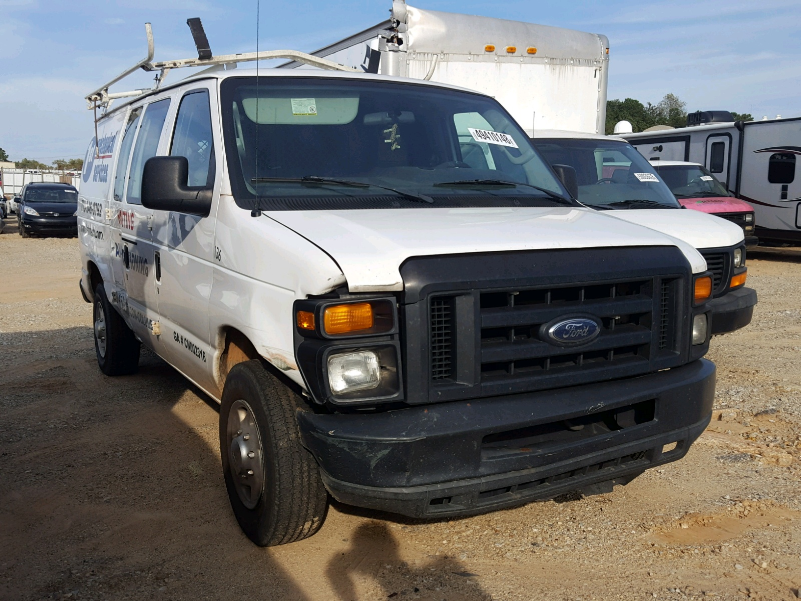 Salvage 2010 Ford ECONOLINE for sale