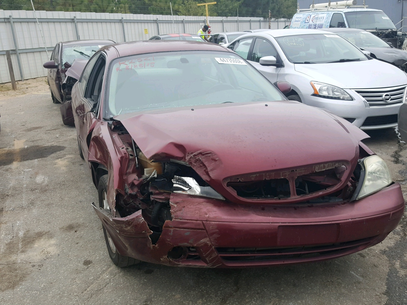 Salvage 2004 Mercury SABLE LS P for sale