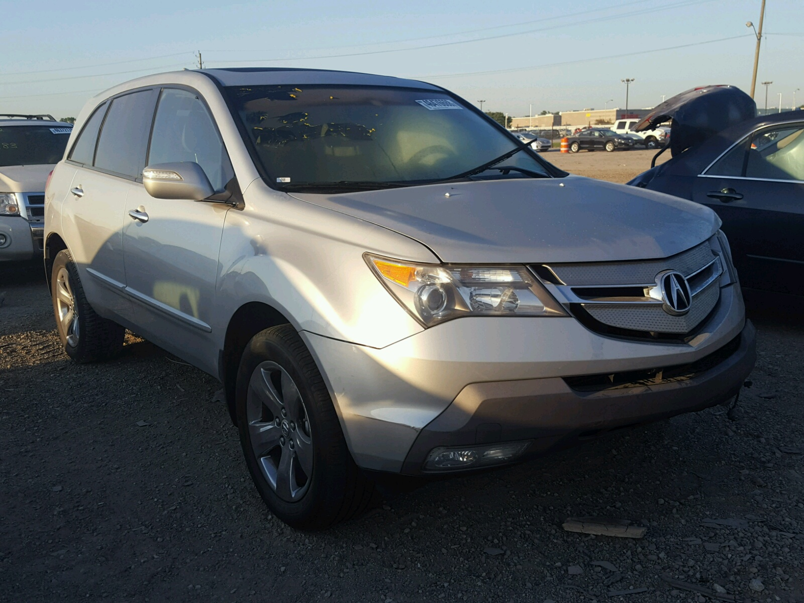 Acura MDX Sport For Sale At Copart Indianapolis IN Lot - Acura mdx 2007 for sale