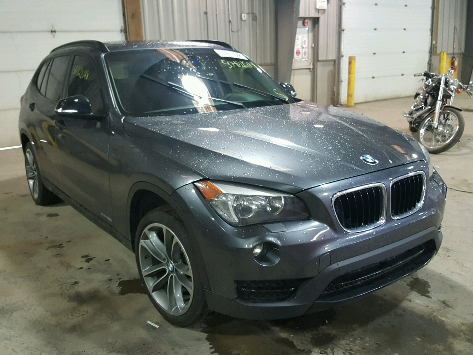 Salvage 2014 BMW X1 XDRIVE2 for sale