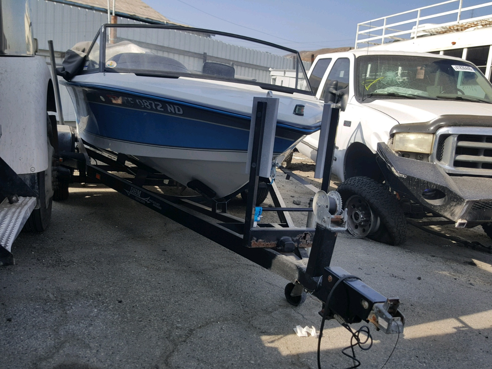 Salvage 1991 Correct Craft MARINE TRAILER for sale