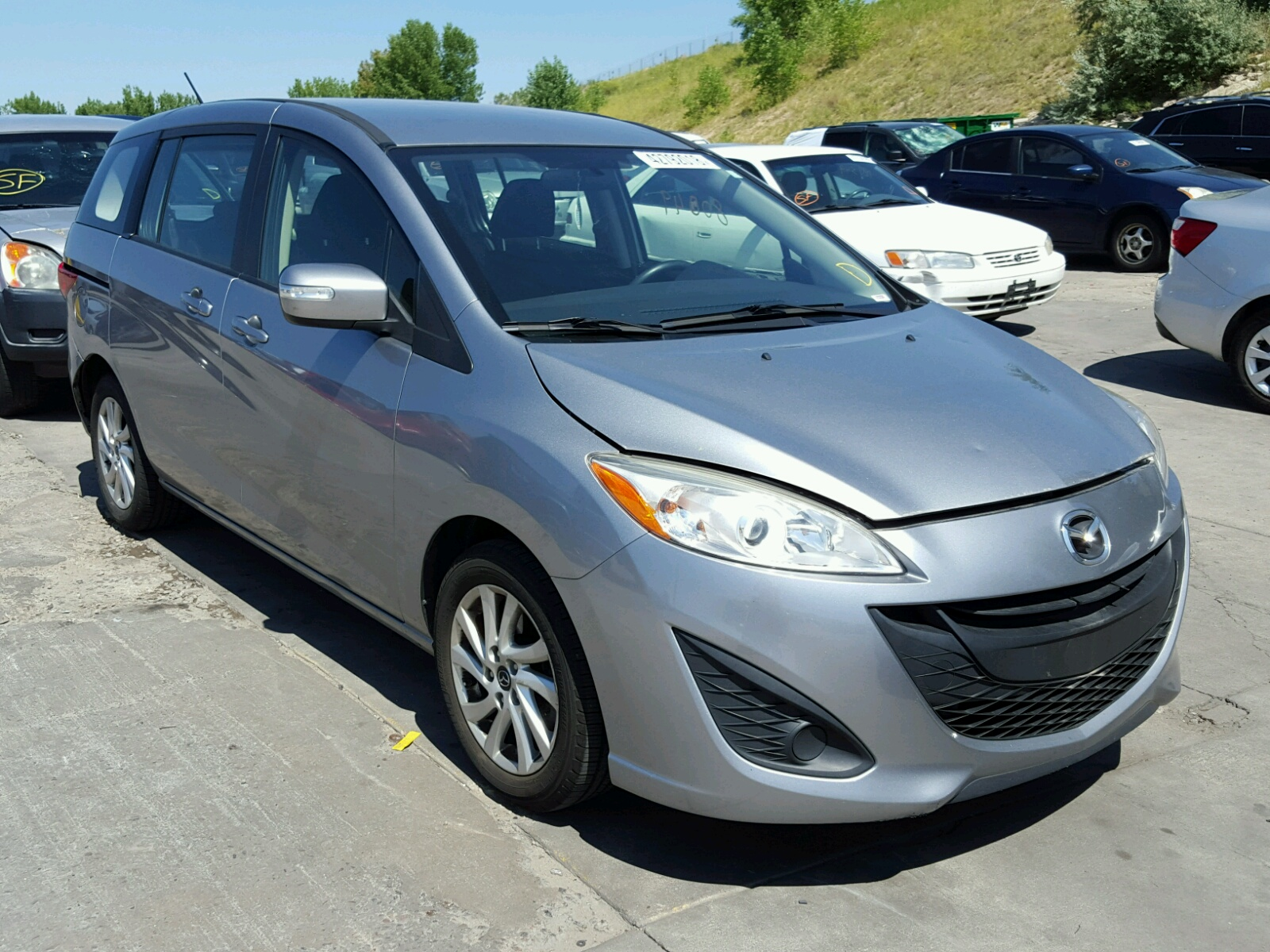 Salvage 2014 Mazda 5 SPORT for sale