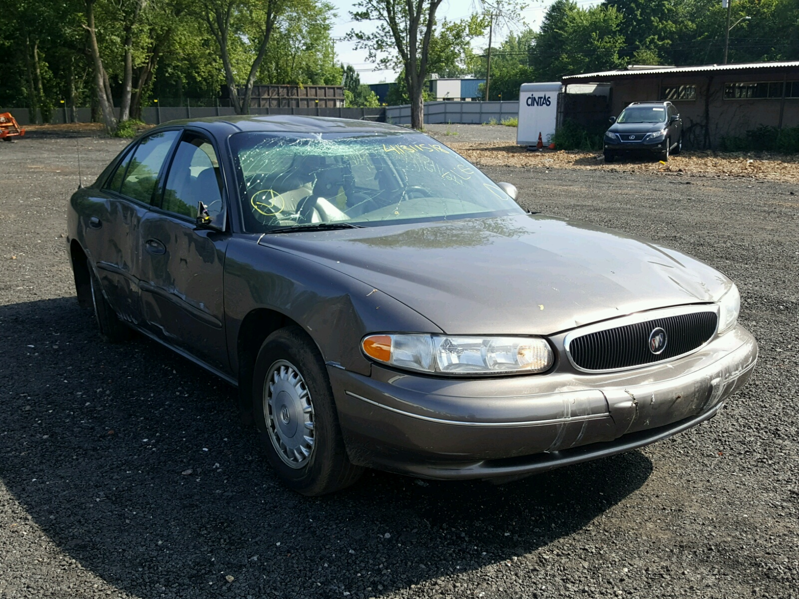 Salvage 2003 Buick CENTURY CU for sale