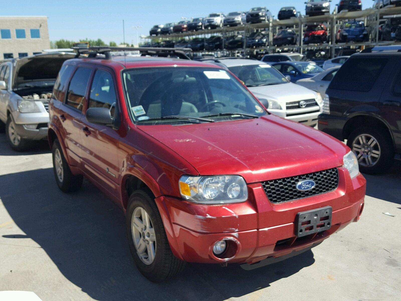 Salvage 2007 Ford ESCAPE HEV for sale