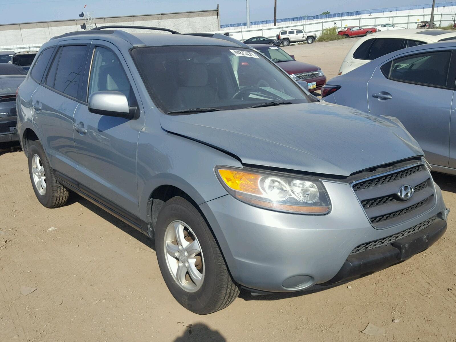 Salvage 2007 Hyundai SANTA FE G for sale