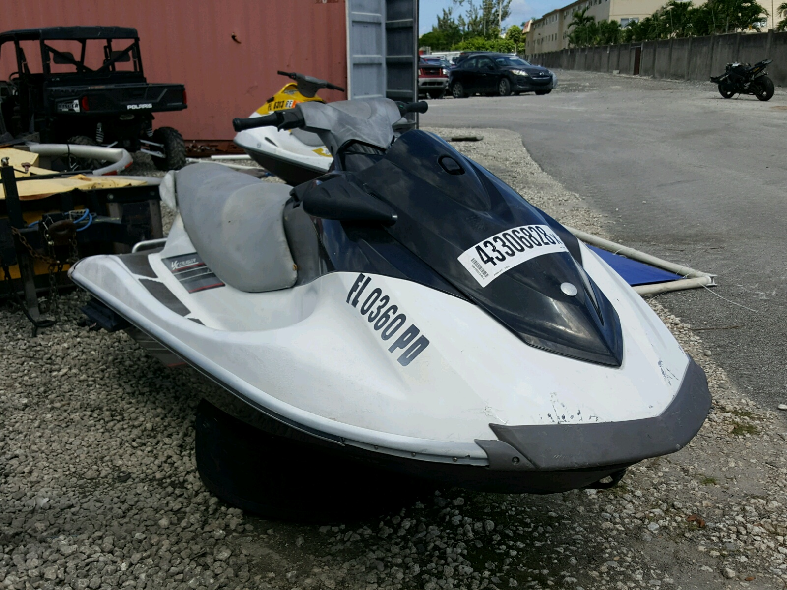2010 Yamaha VX Cruiser for sale at Copart Miami FL Lot