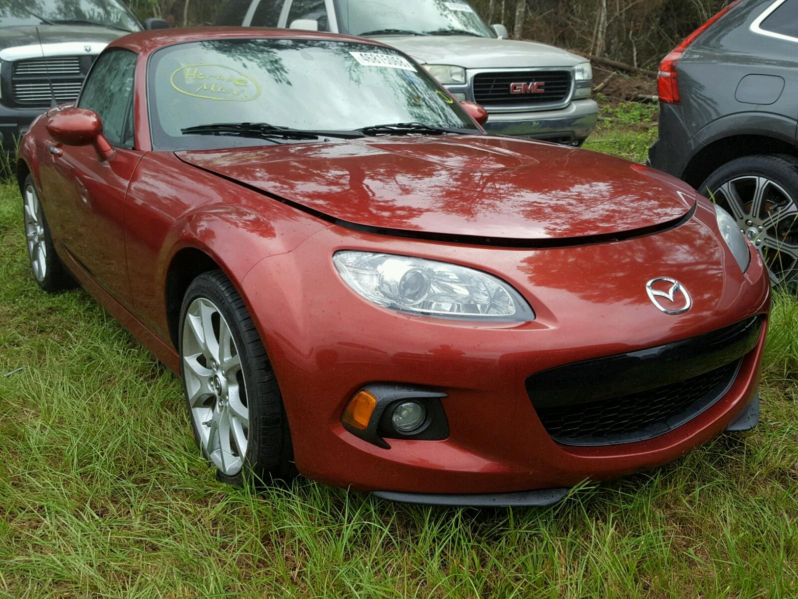 Salvage 2015 Mazda MX-5 MIATA for sale