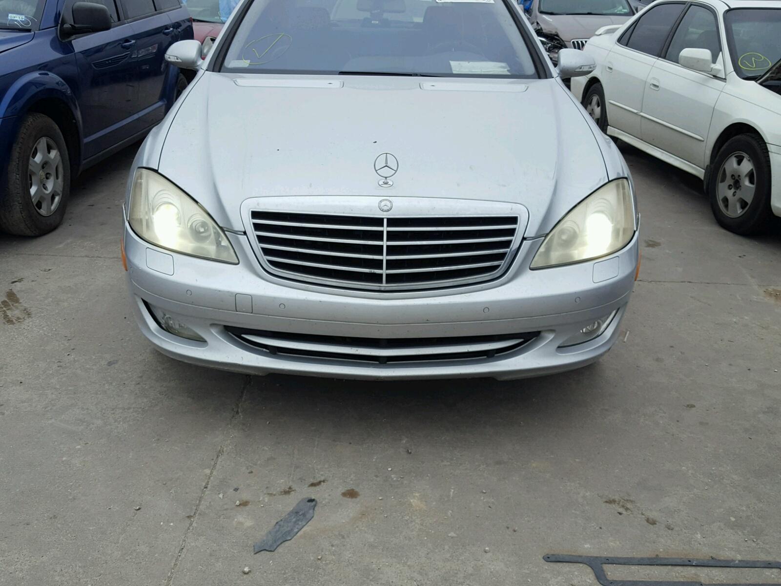2008 Mercedes Benz S 550 for sale at Copart Grand Prairie TX Lot