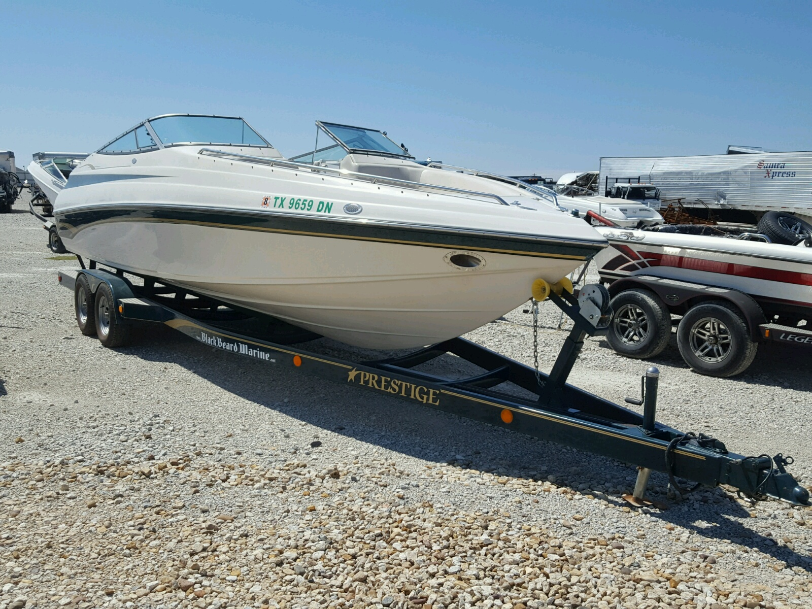 Salvage 1998 Crownline 266 BR for sale