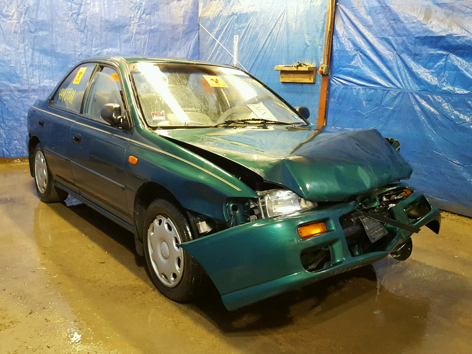 Salvage 1997 Subaru IMPREZA L for sale