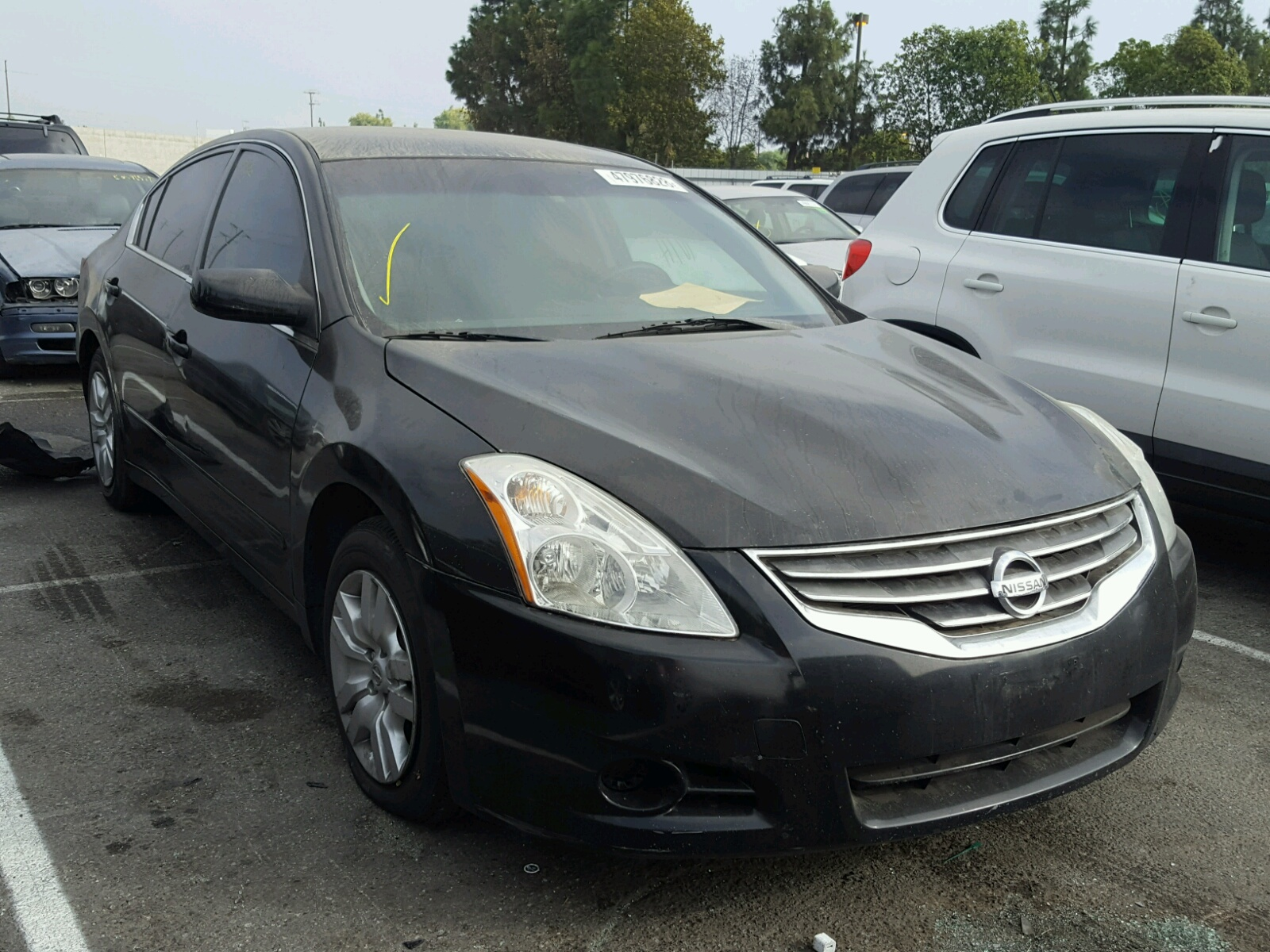 Salvage 2010 Nissan ALTIMA BASE for sale