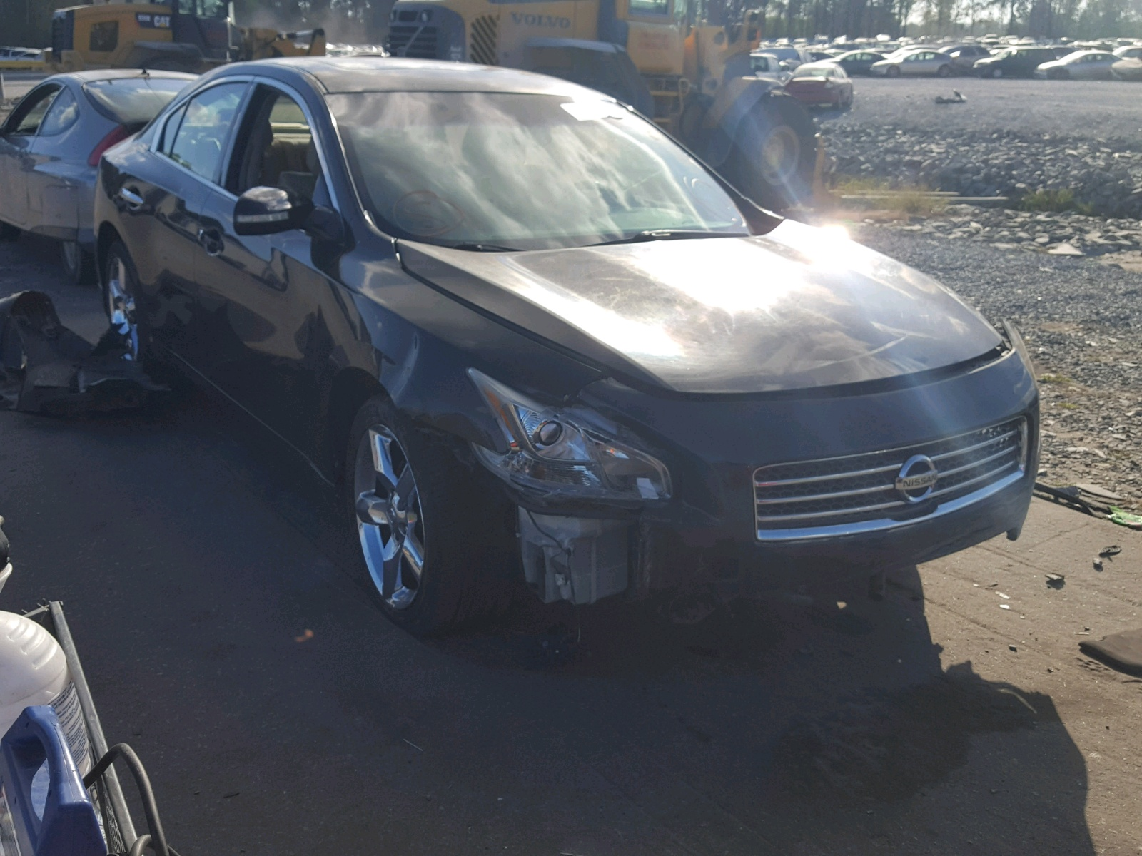 Salvage 2010 Nissan MAXIMA S for sale
