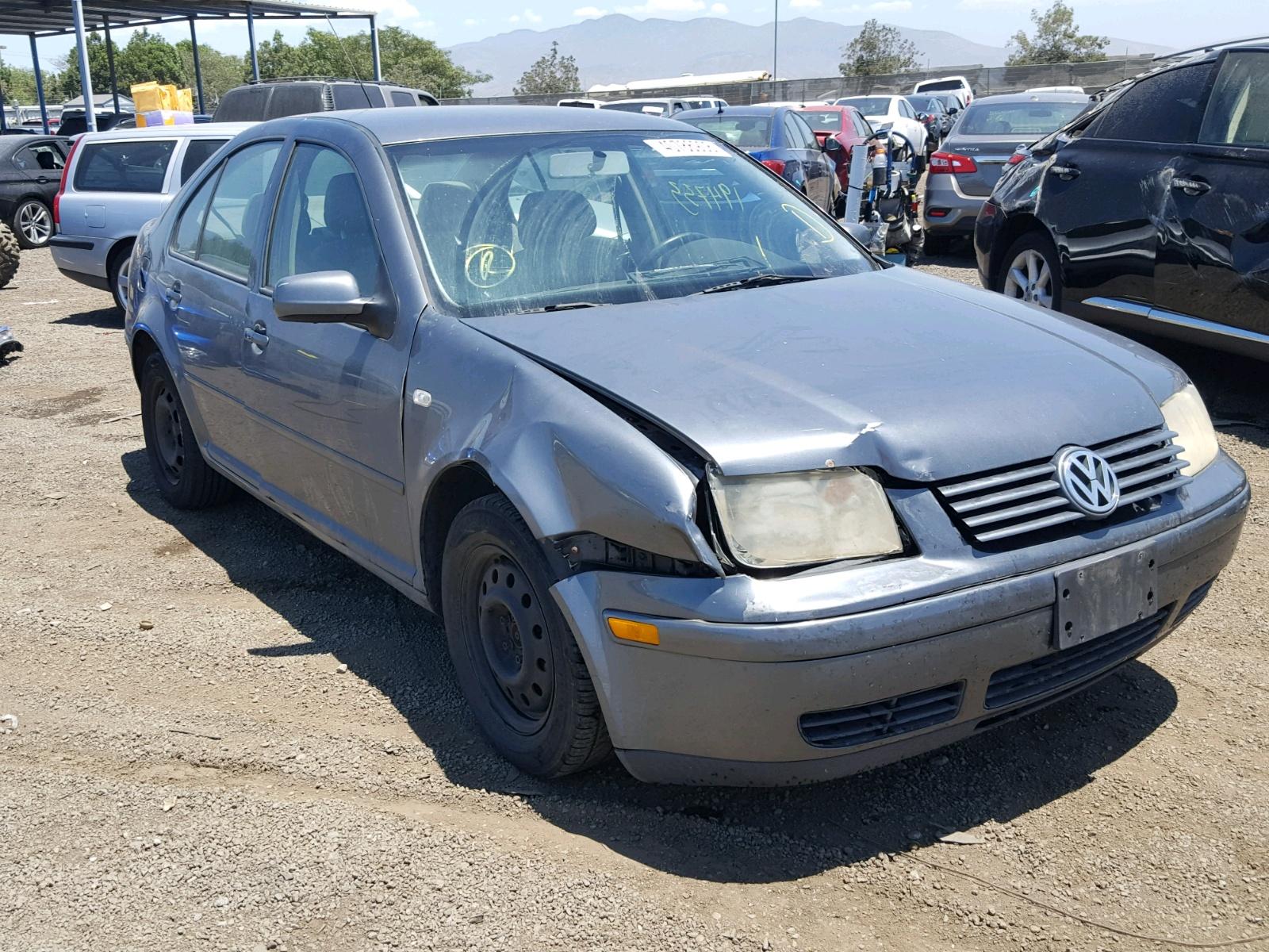 Salvage 2003 Volkswagen JETTA GL for sale