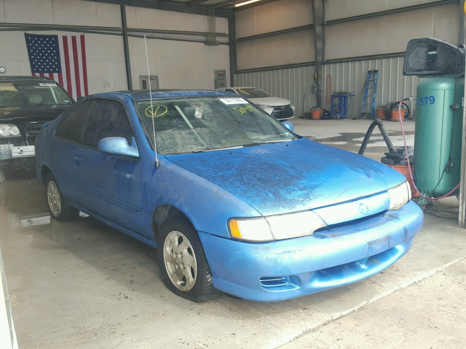 Salvage 1997 Nissan 200SX BASE for sale