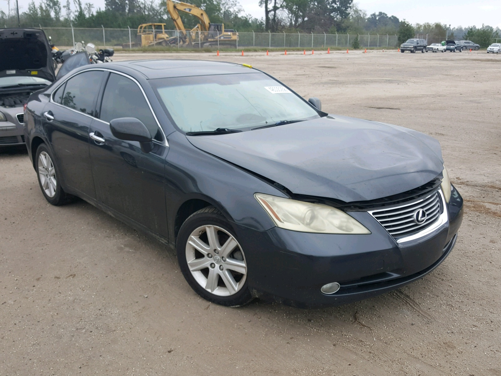 Salvage 2007 Lexus ES 350 for sale