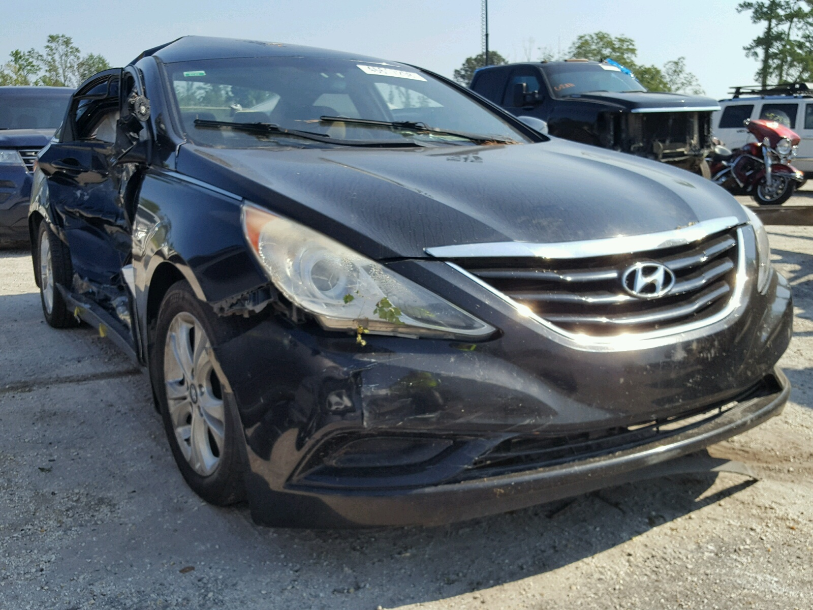 Salvage 2011 Hyundai SONATA GLS for sale