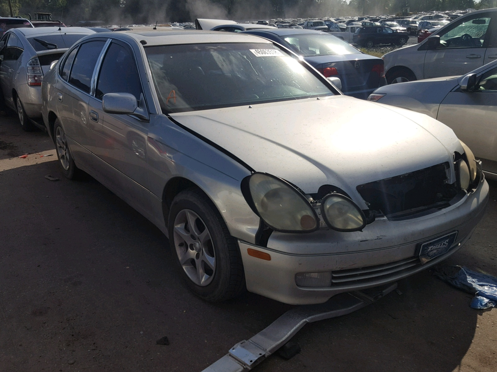 Salvage 2002 Lexus GS 300 for sale