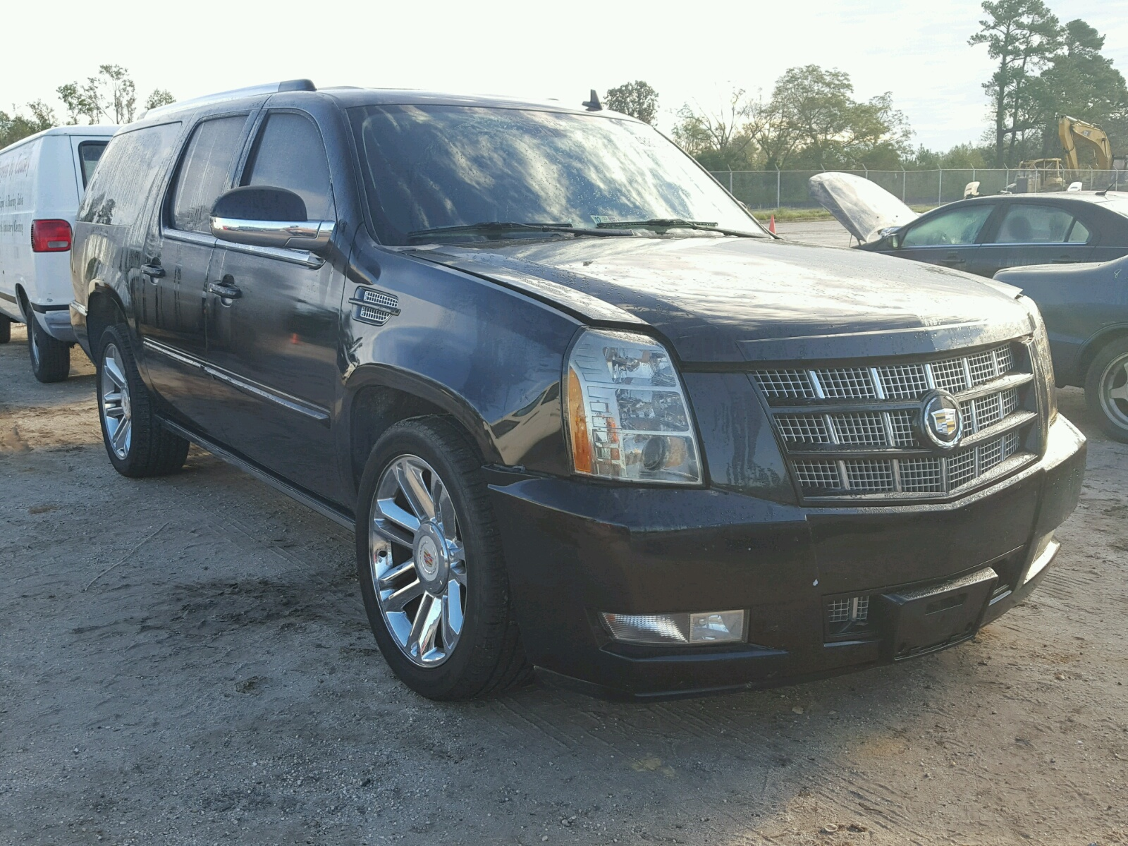 Salvage 2012 Cadillac ESCALADE E for sale