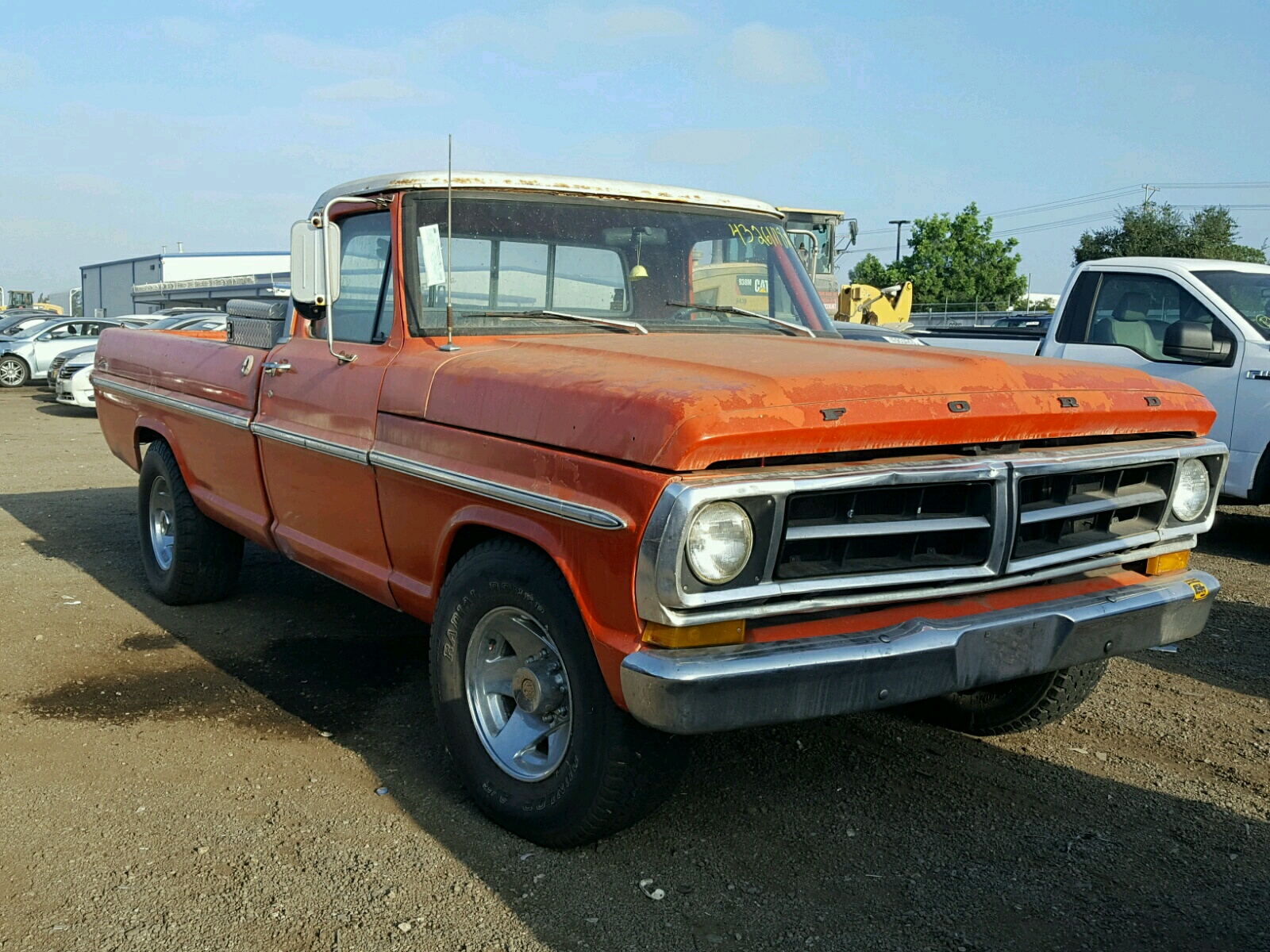 1971 Ford F250 For Sale At Copart San Diego Ca Lot 43261118 F100 Short Bed
