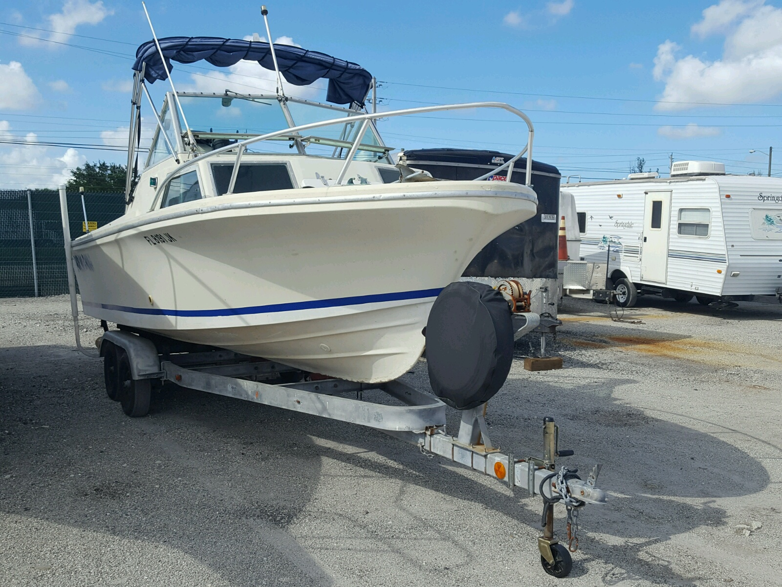 Salvage 1971 Stam BOAT for sale