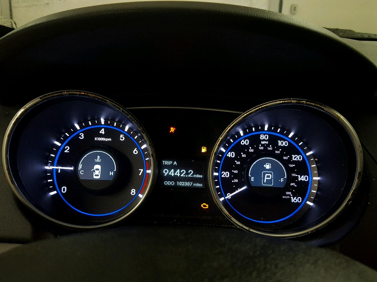 5NPEB4AC0BH181770 - 2011 Hyundai Sonata Gls 2.4L front view
