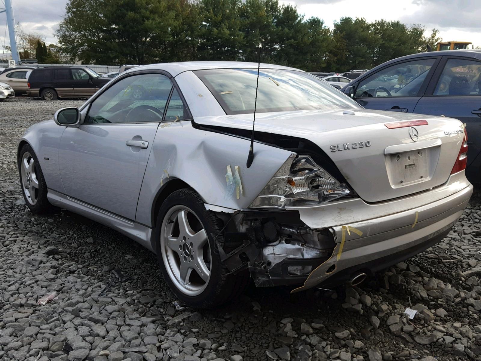 2003 Mercedes-Benz Slk 230 Ko 2.3L 4 in NJ - Trenton ...