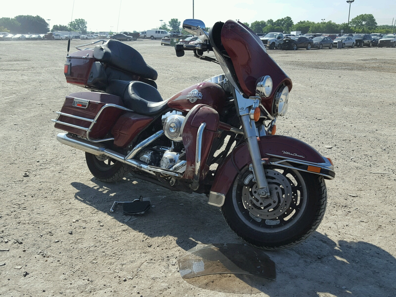 click here to view 2006 HARLEY-DAVIDSON FLHTCUI at IBIDSAFELY