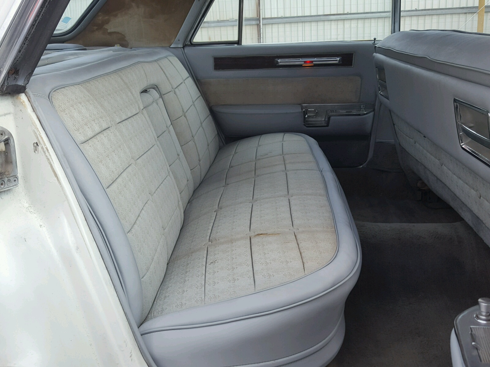 1961 Cadillac Fleetwood For Sale At Copart Indianapolis In Lot Engine