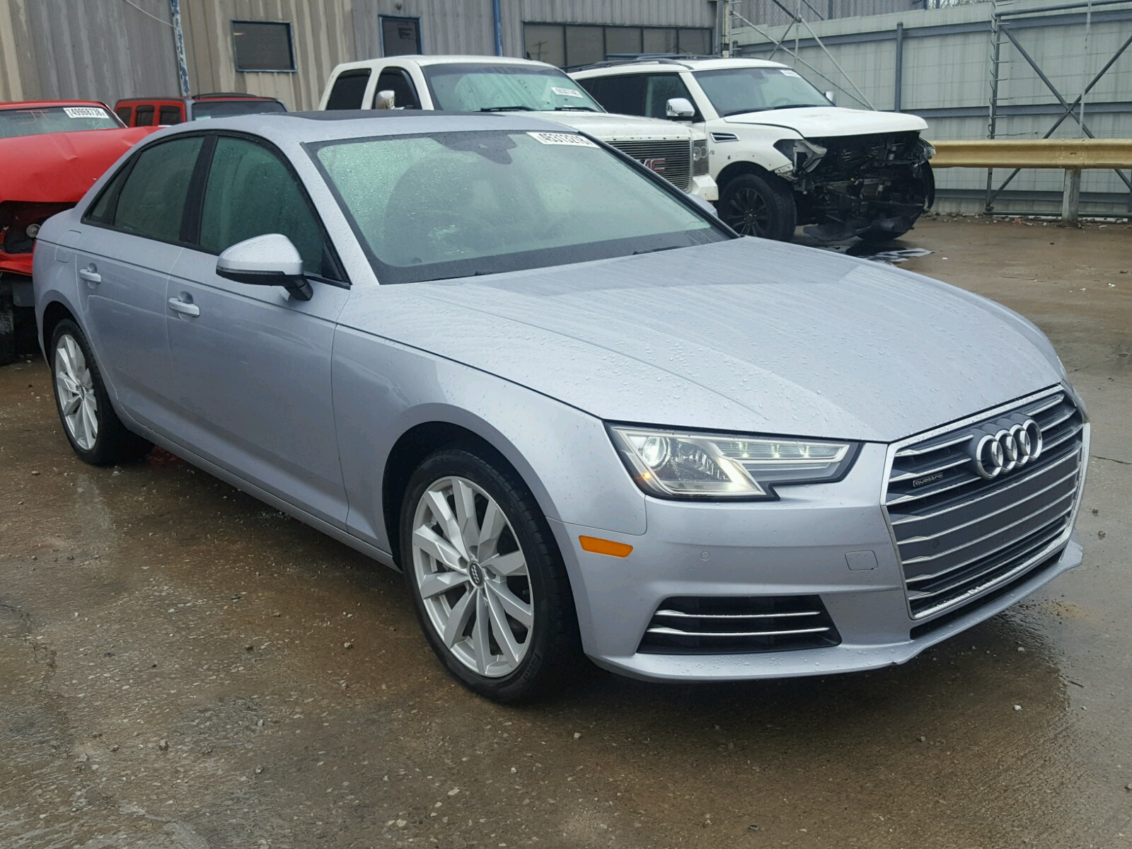 Auto Auction Ended on VIN WAUANAF40HN 2017 Audi A4 Premium in