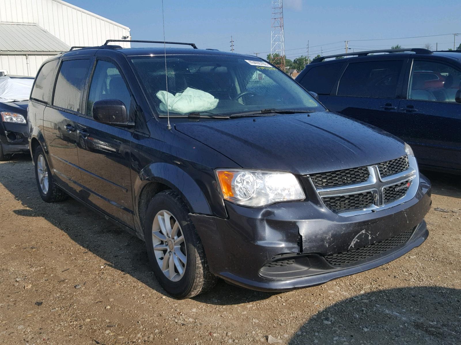 2014 Dodge Grand Caravan For Sale At Copart Hartford City In Lot