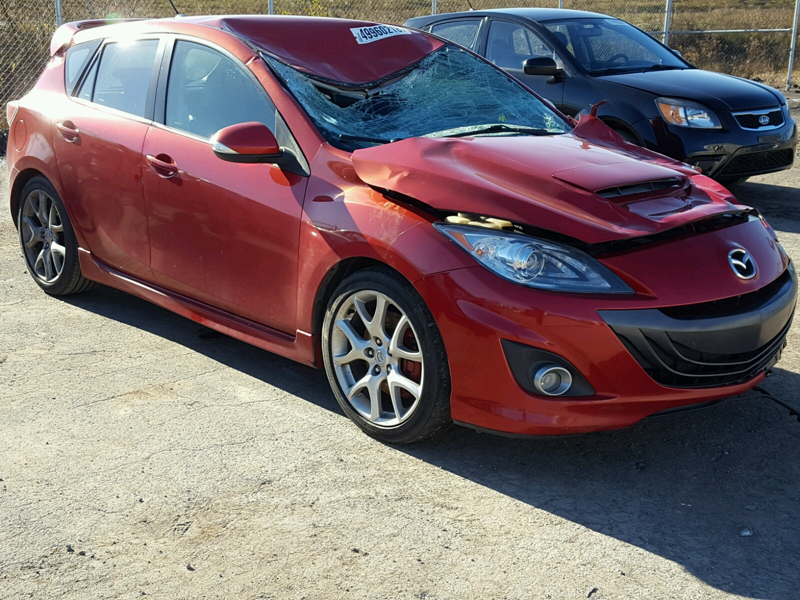 Salvage 2010 Mazda SPEED 3 for sale