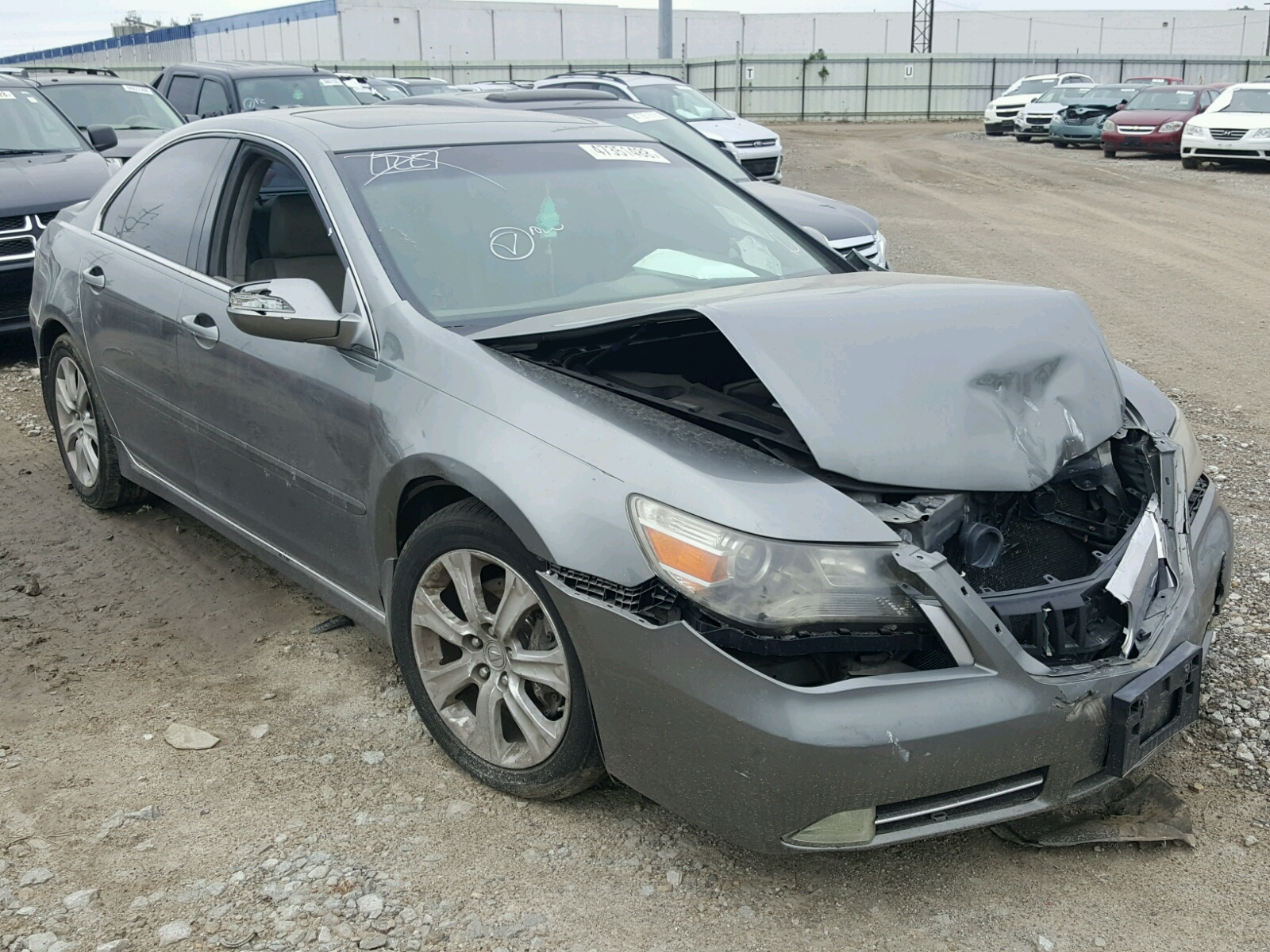 Salvage 2009 Acura RL for sale