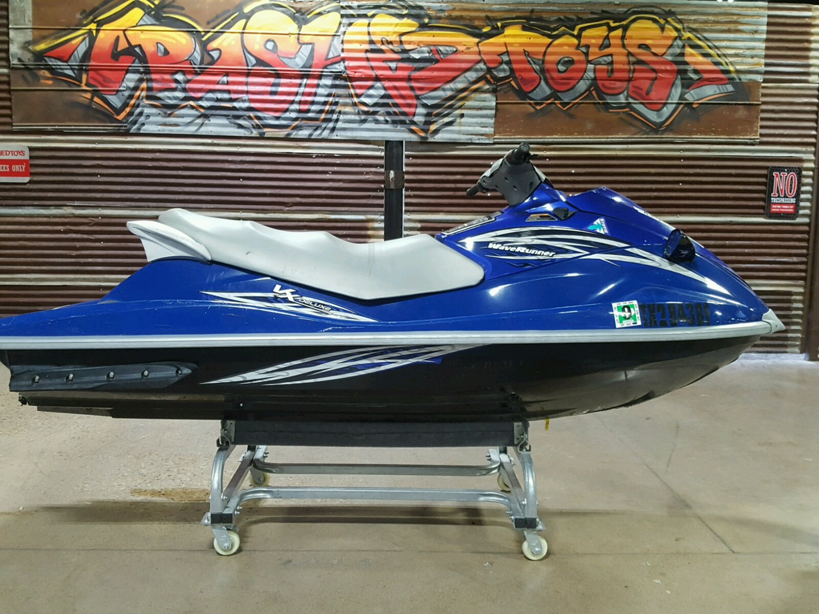 Salvage 2009 Yamaha VX DELUXE for sale