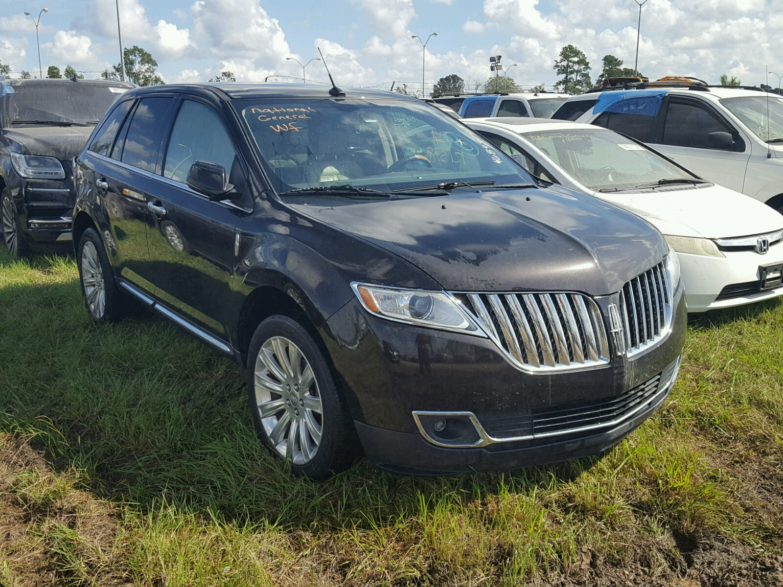 Salvage 2013 Lincoln MKX for sale