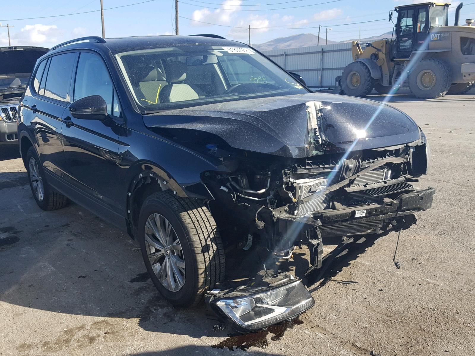 2018 Volkswagen Tiguan S 2 0l 4 In Ut Salt Lake City 3vv0b7ax0jm070385 For