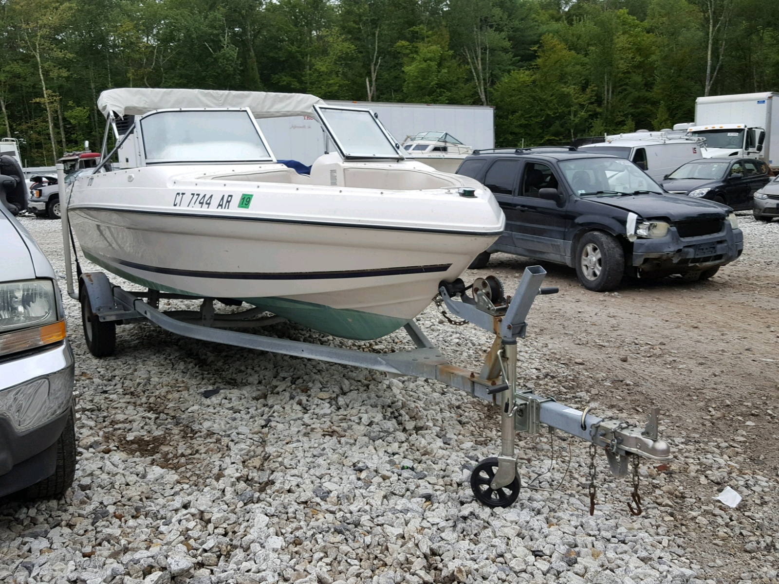Salvage 1995 Seaswirl MOTORBOAT for sale