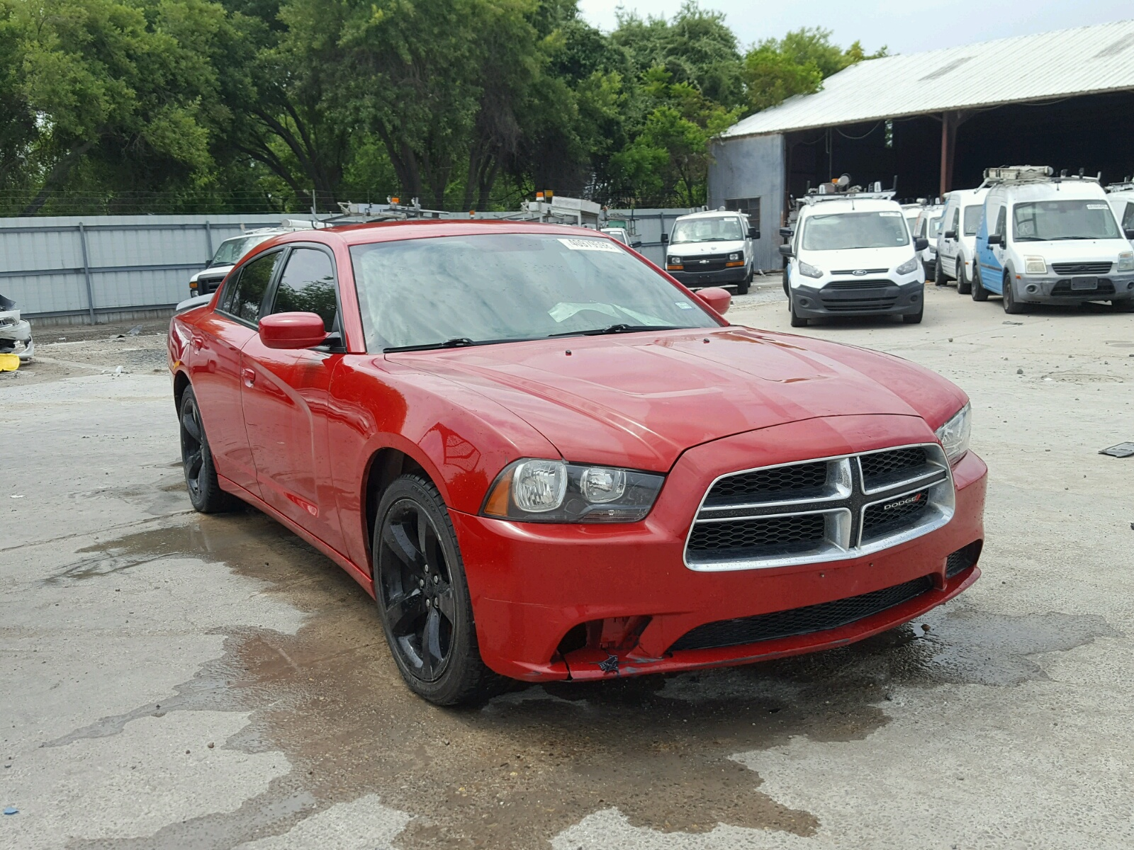 2011 Dodge Charger for sale at Copart Corpus Christi TX Lot