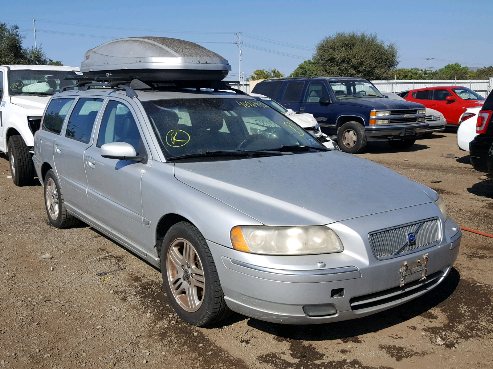Salvage 2006 Volvo V70 2.5T for sale