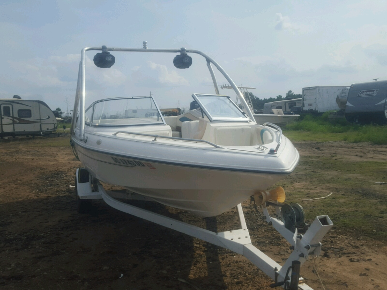 Salvage 1995 Sunbird MARINE TRAILER for sale