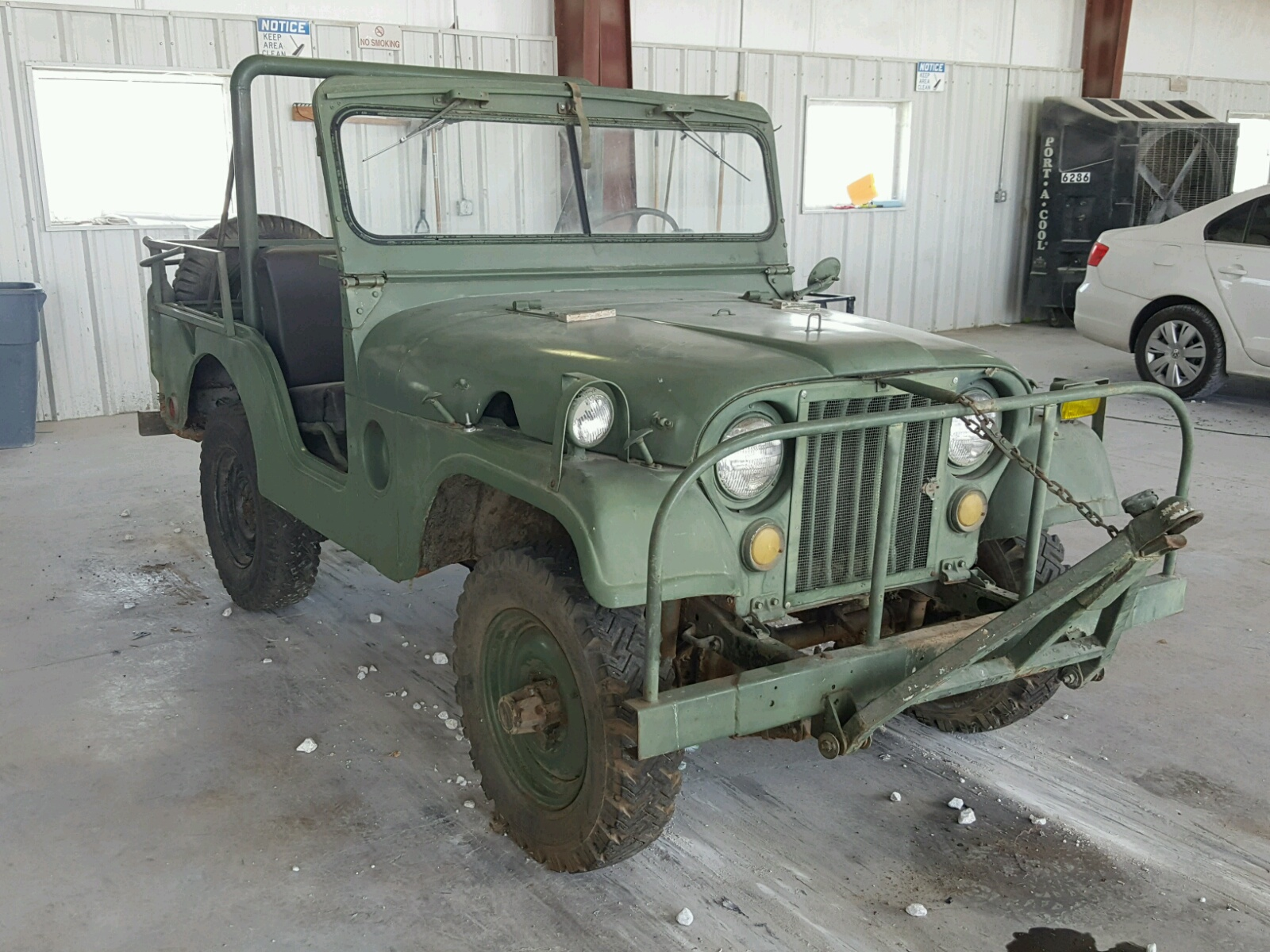 Salvage 1953 Willys M38A1 for sale