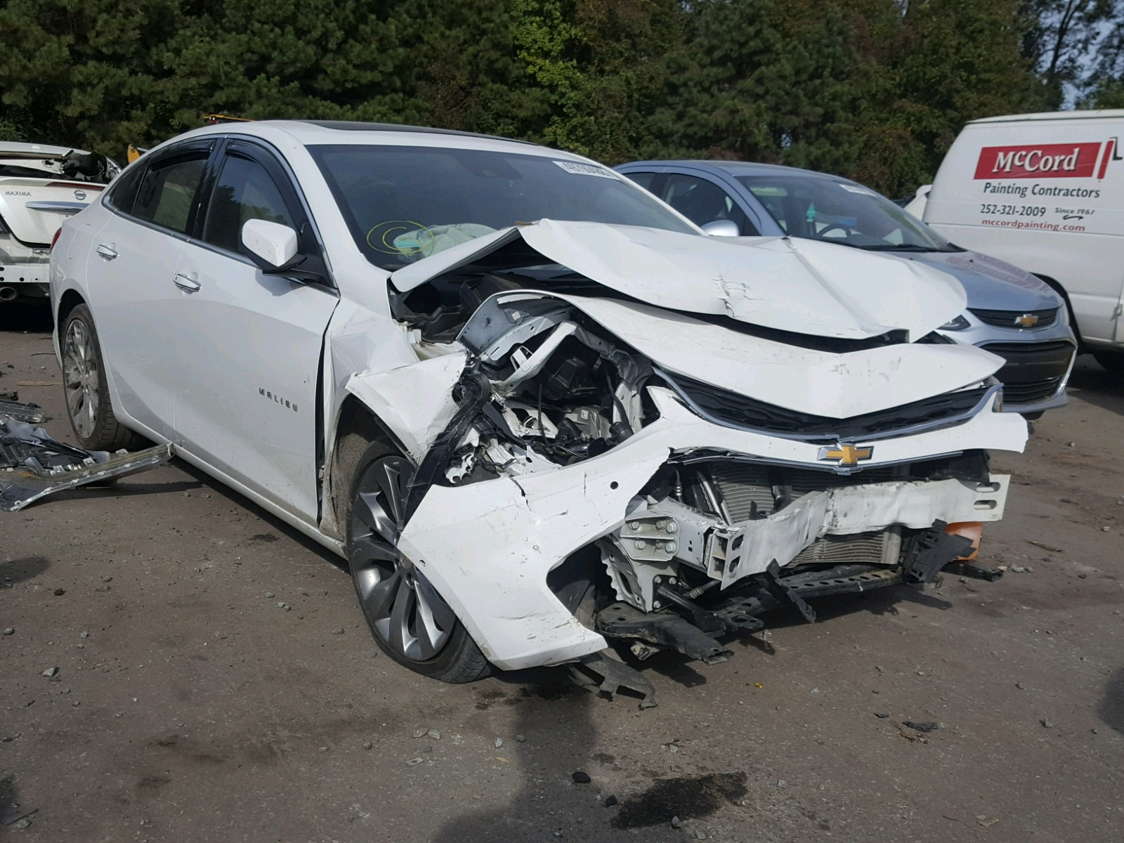 Salvage 2016 Chevrolet MALIBU PRE for sale