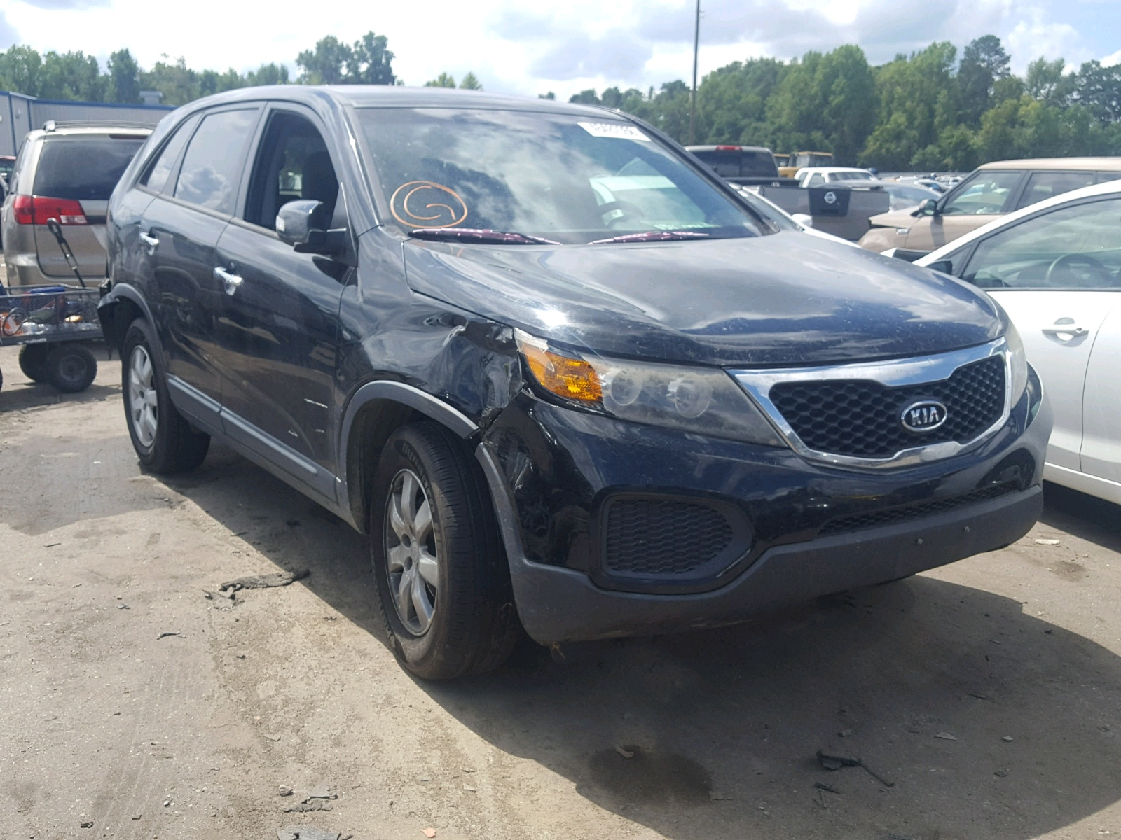 Salvage 2011 KIA SORENTO BA for sale
