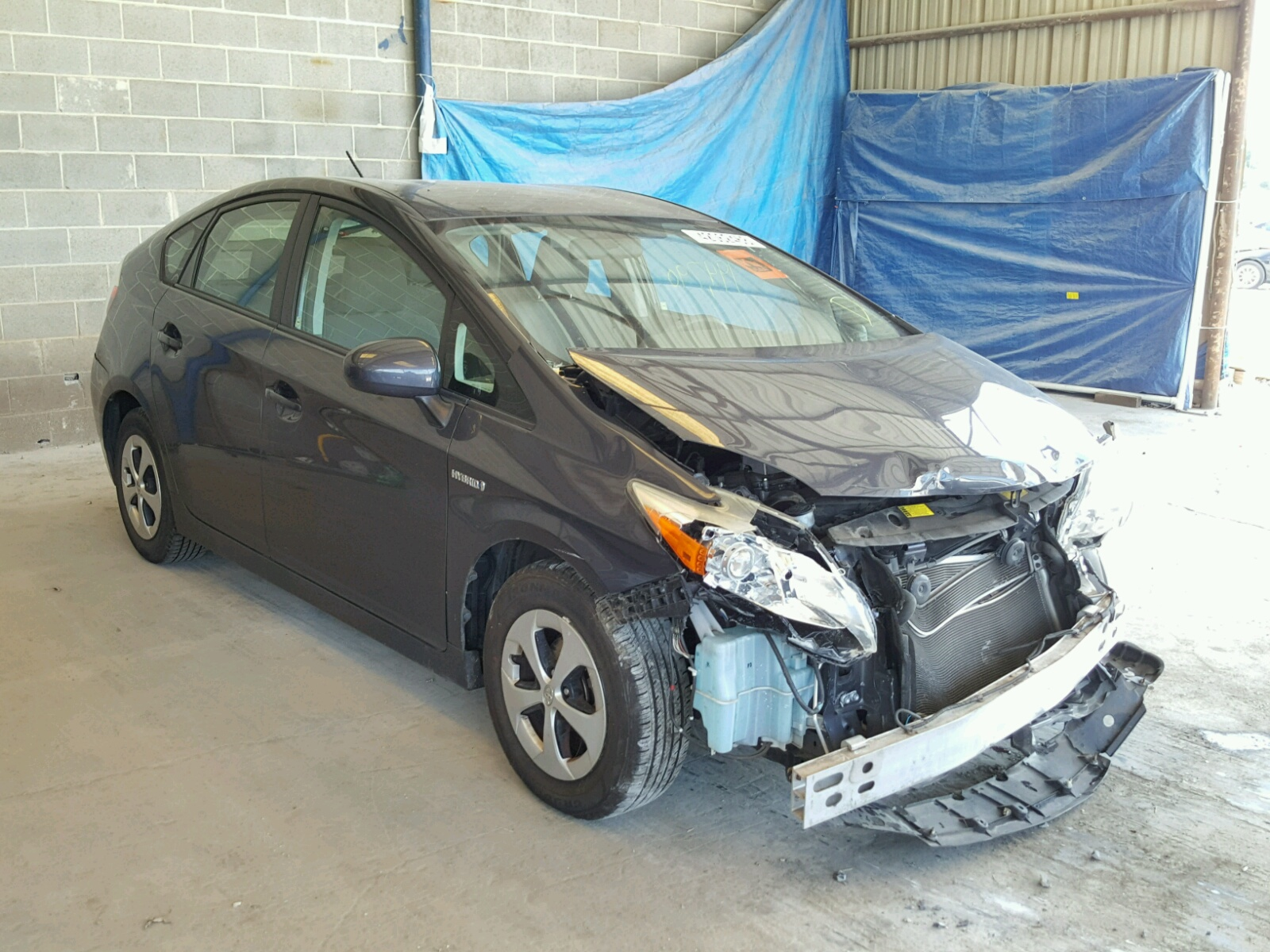 Salvage 2012 Toyota PRIUS for sale