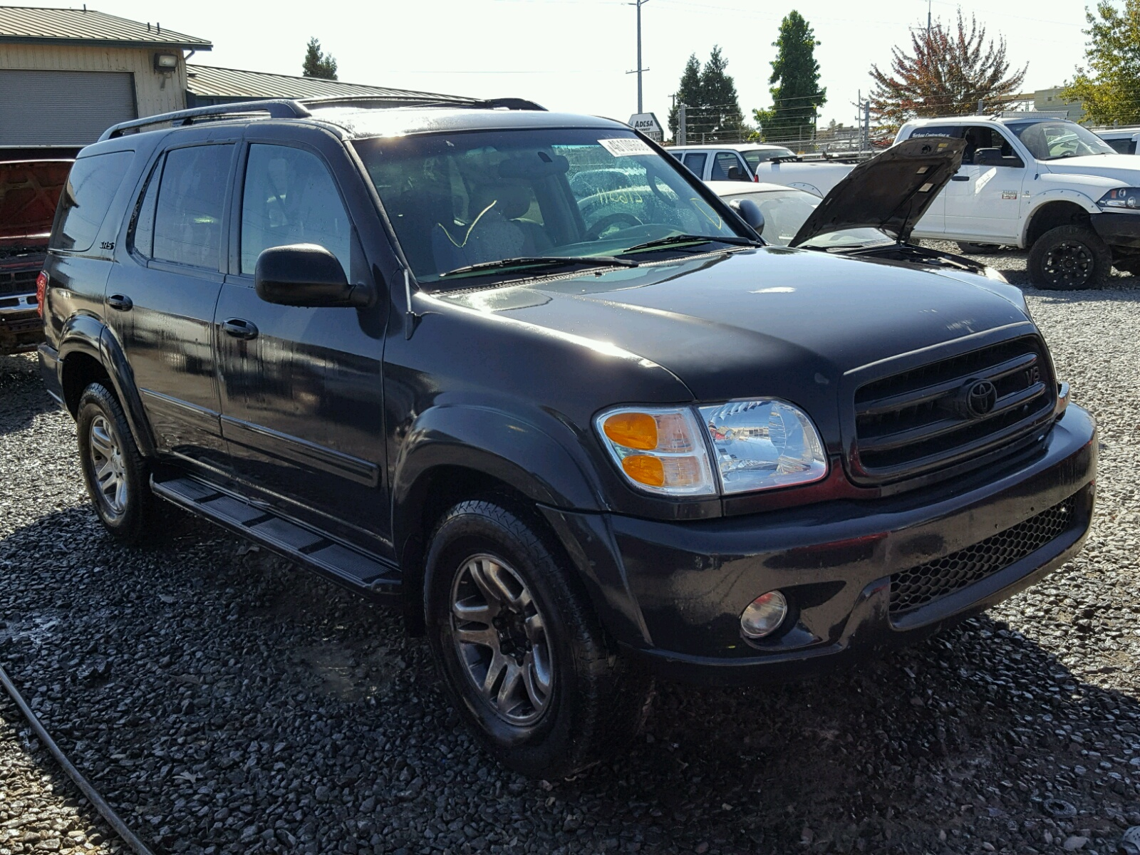 2004 Toyota Sequoia Sr For Sale At Copart Eugene Or Lot 46109668 Loaded