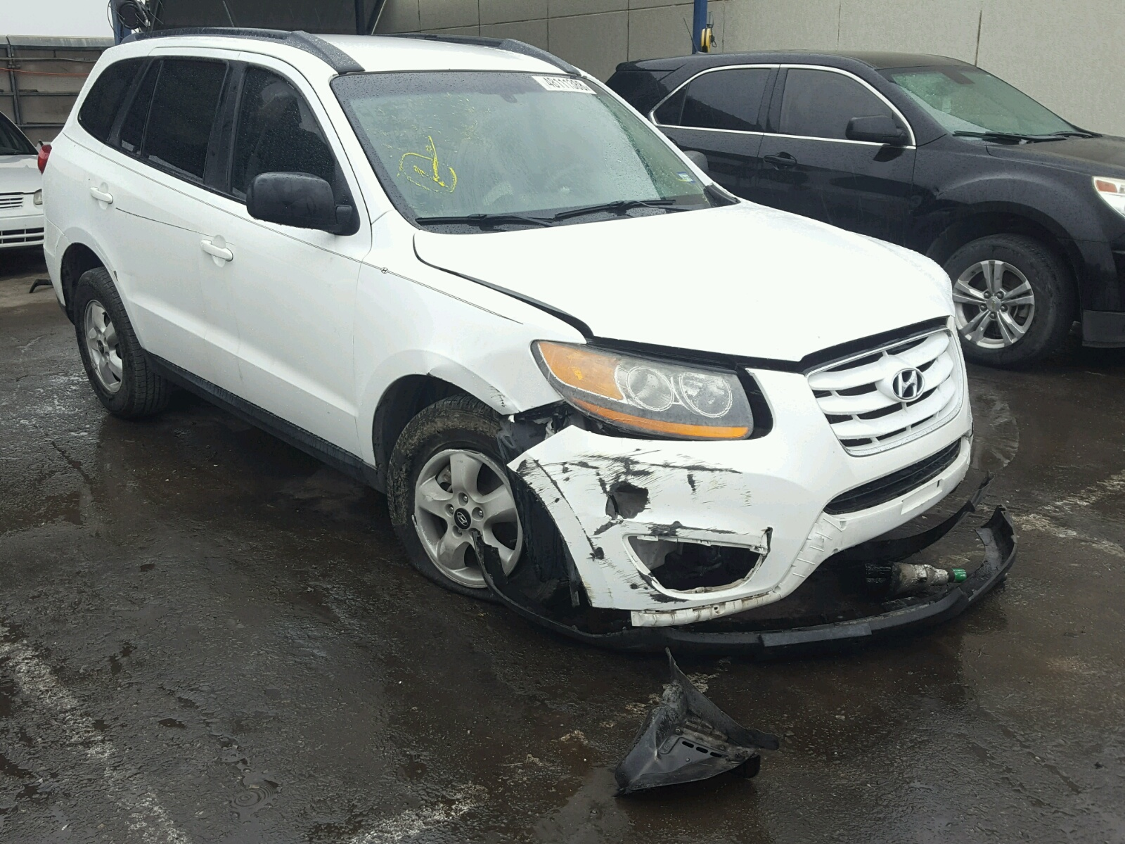 Salvage 2010 Hyundai SANTA FE G for sale