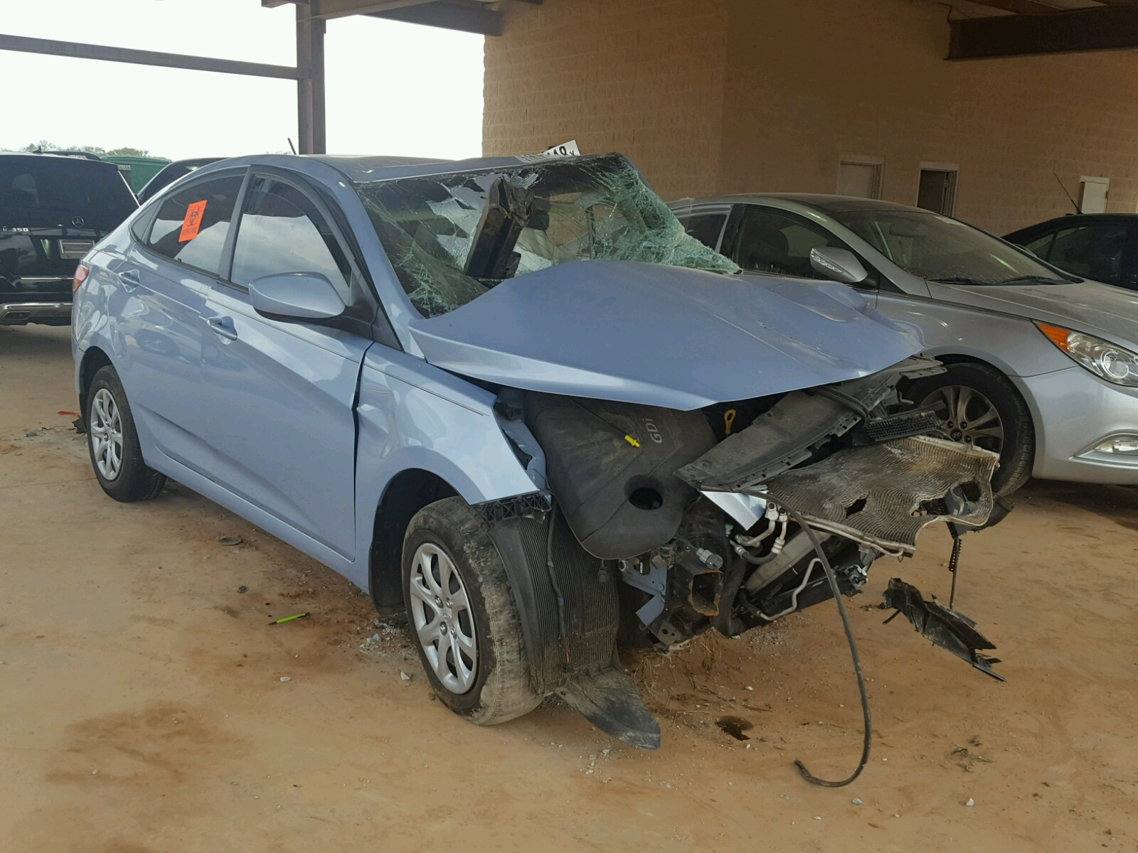 Salvage 2012 Hyundai ACCENT GLS for sale