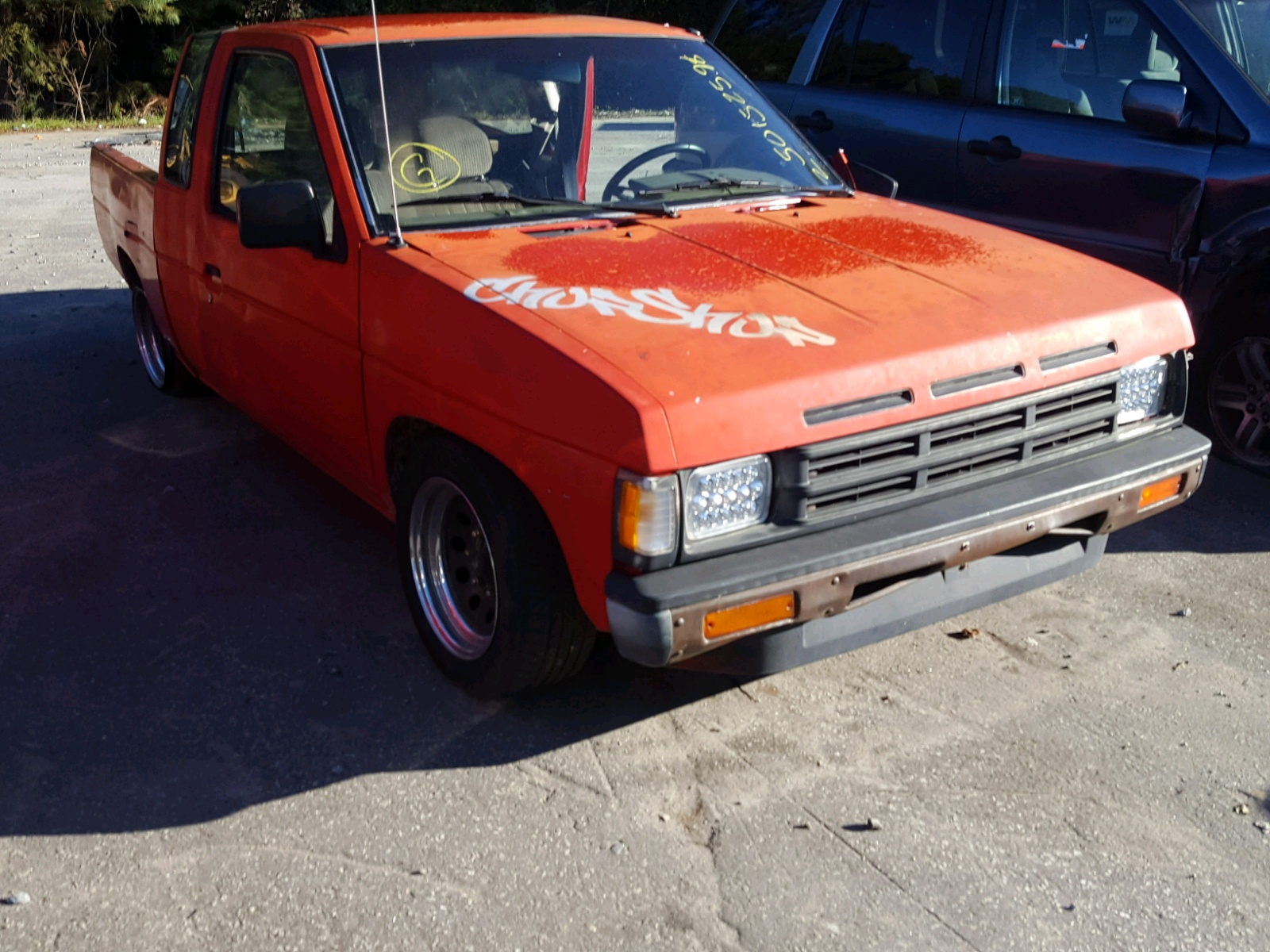 Salvage 1990 Nissan D21 KING C for sale