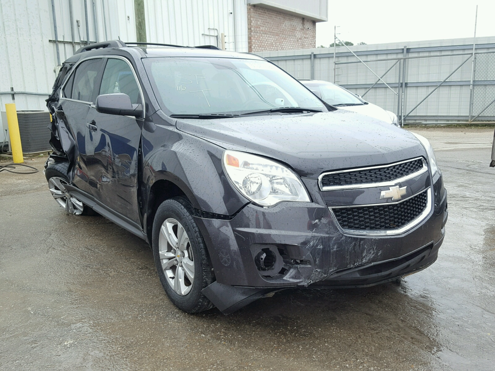 Salvage 2014 Chevrolet EQUINOX LT for sale