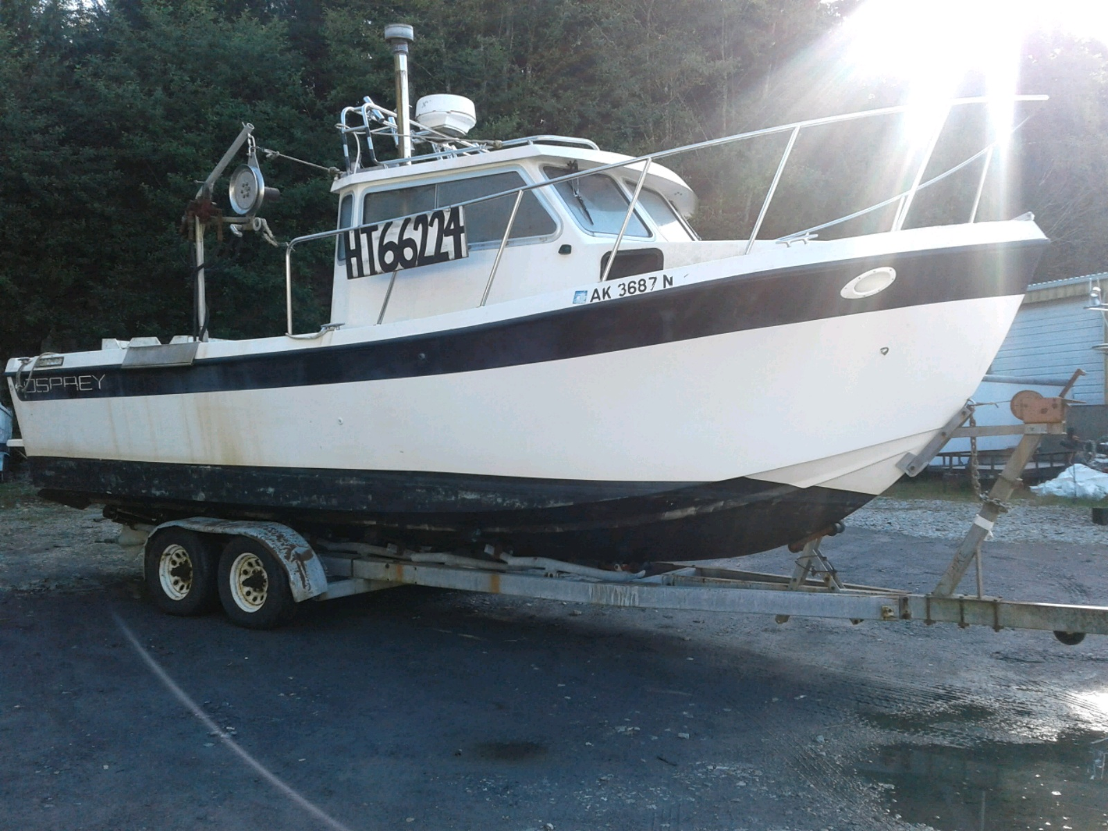 Salvage 1995 Ospr BOAT for sale