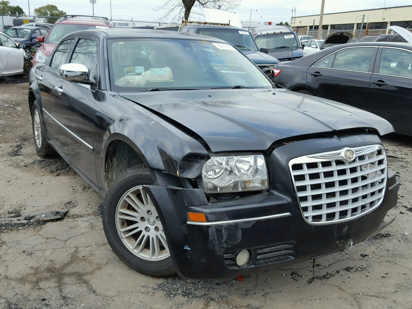 Salvage 2010 Chrysler 300 TOURING for sale